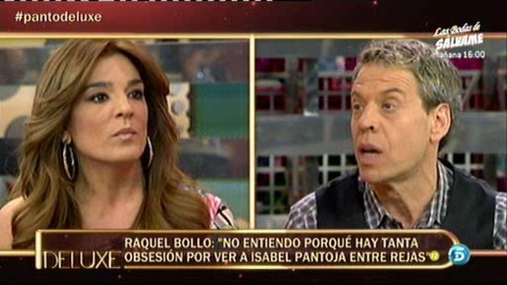 """Raquel bollo: """"Son insaciables las ganas de ver a Isabel Pantoja entre rejas"""""""