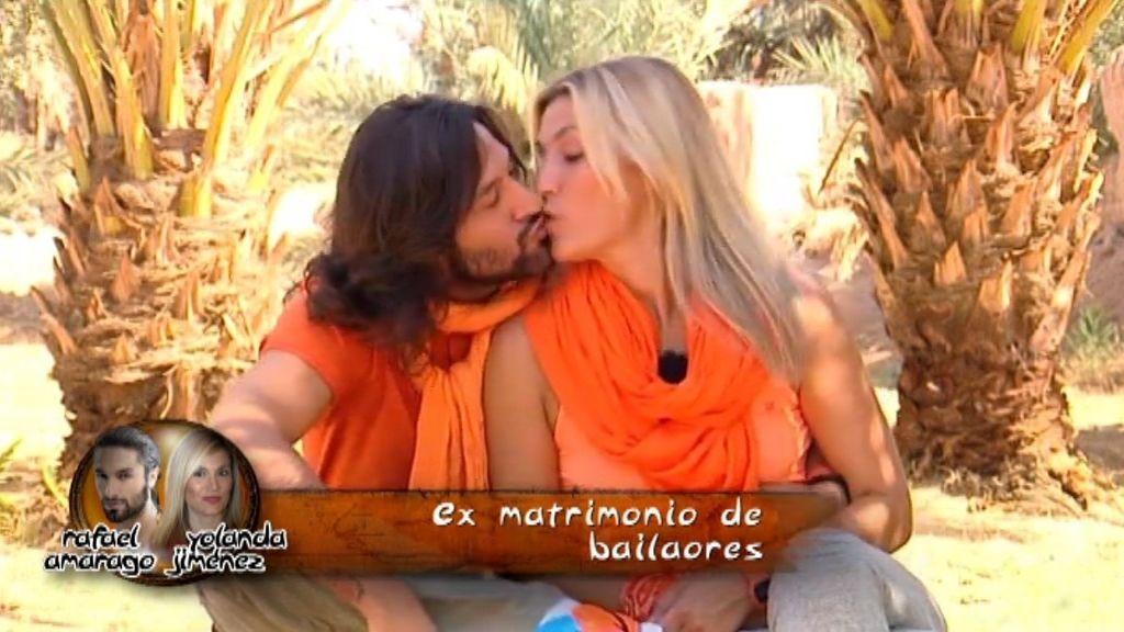 Rafael Amargo y Yolanda, la nueva pareja