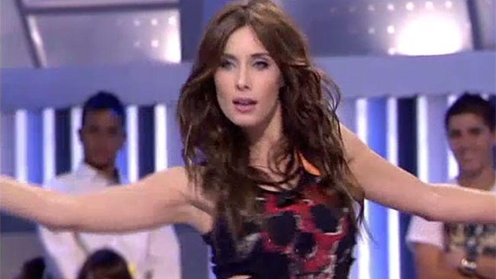 Pilar Rubio imita a Shakira