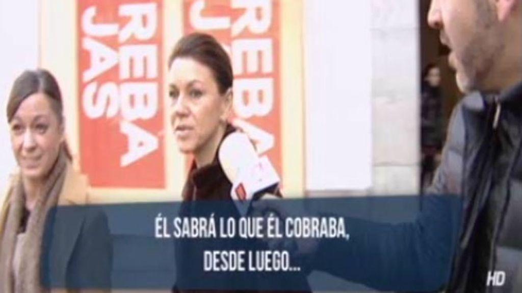 """Cospedal, sobre las declaraciones de Jorge Trías: """"Él sabrá lo que él cobraba"""""""