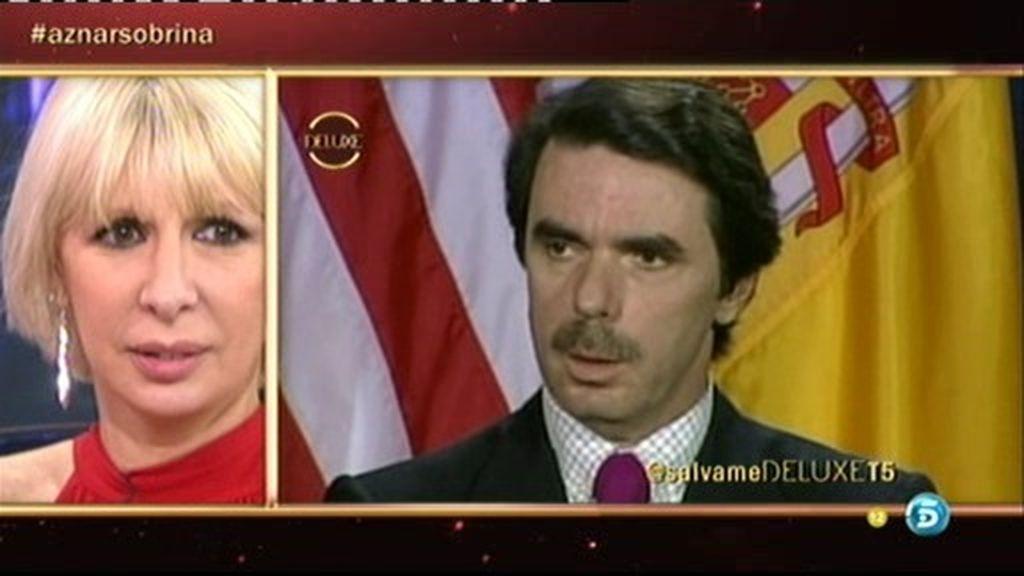 Aran Aznar imita a su tío