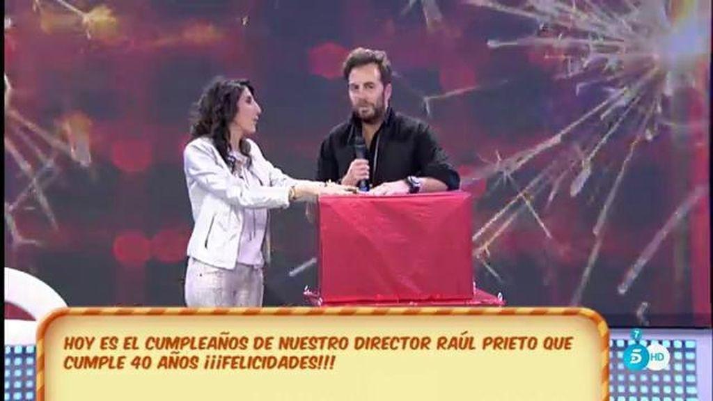 ¡La sorpresa que Raúl Prieto nunca se esperaba por su cumpleaños!