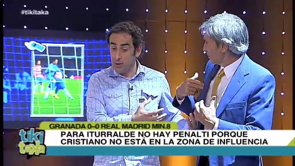 Lobo e Itu escenifican el agarrón a Ramos