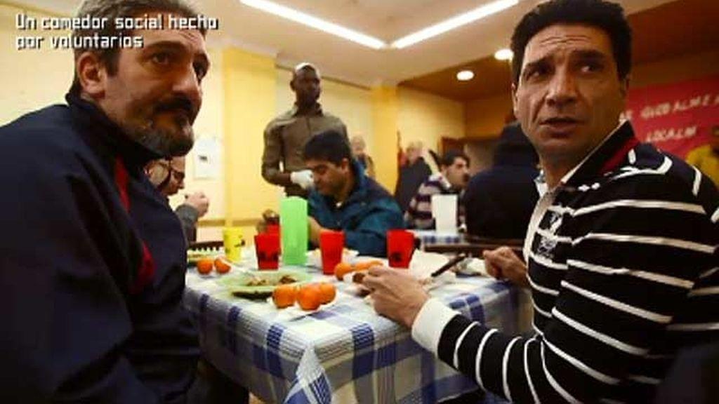 Un comedor social hecho por voluntarios