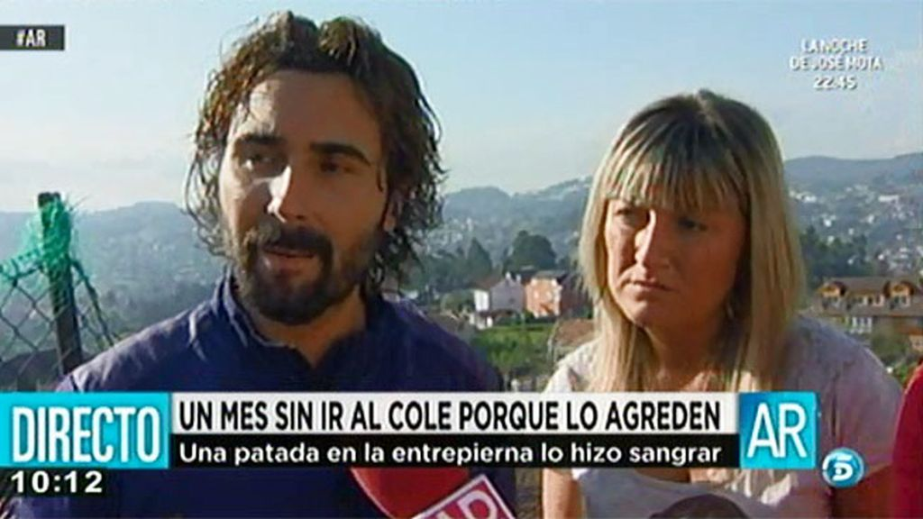 Guillermo y Beatriz no llevan a su hijo al colegio porque es agredido por sus compañeros