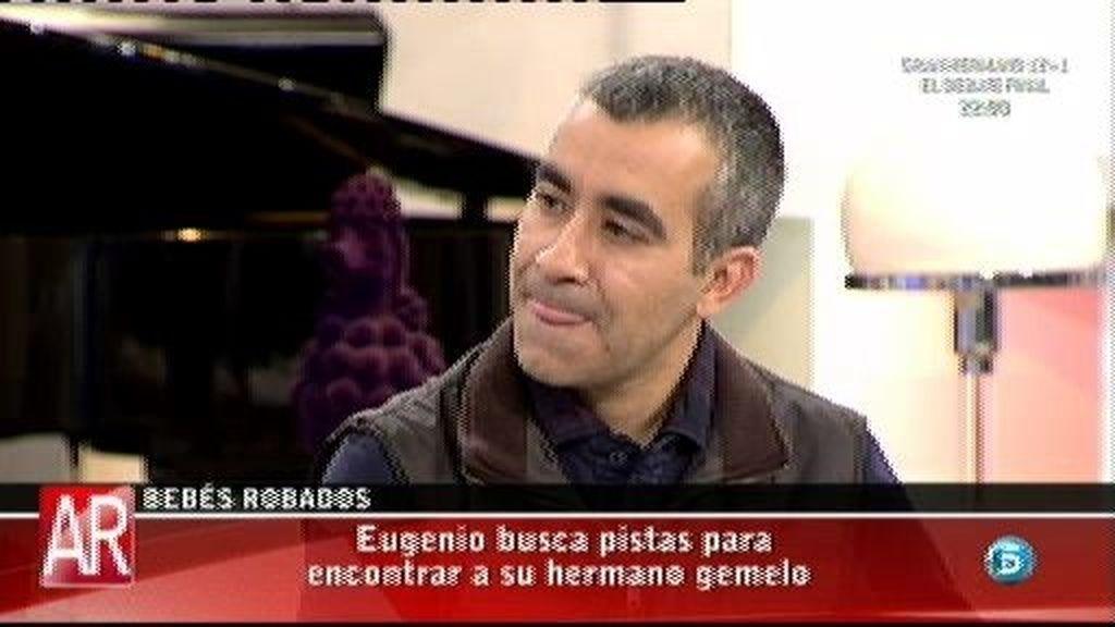 """Eugenio: """"En la camilla mi madre vio un papel que ponía 'Ojo al parto'"""