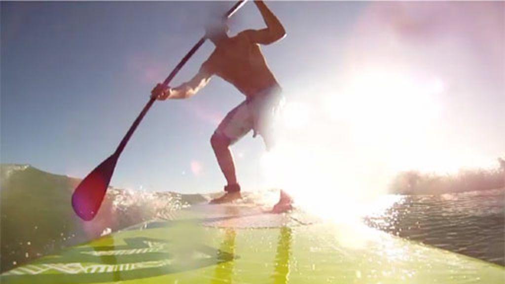 Putno de encuentro de surfistas de toda Europa