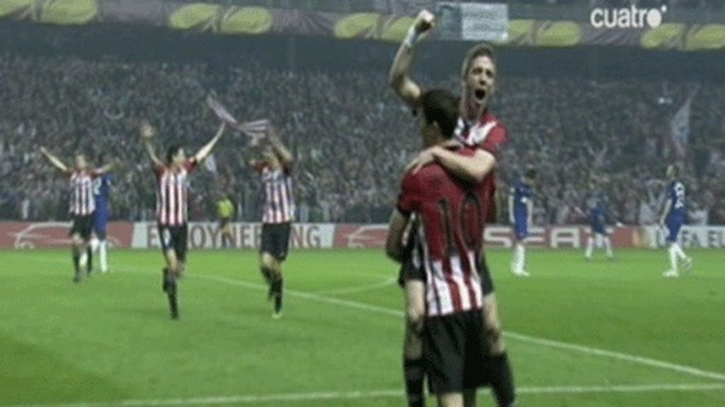 El Athletic, en cuartos de la Europa League