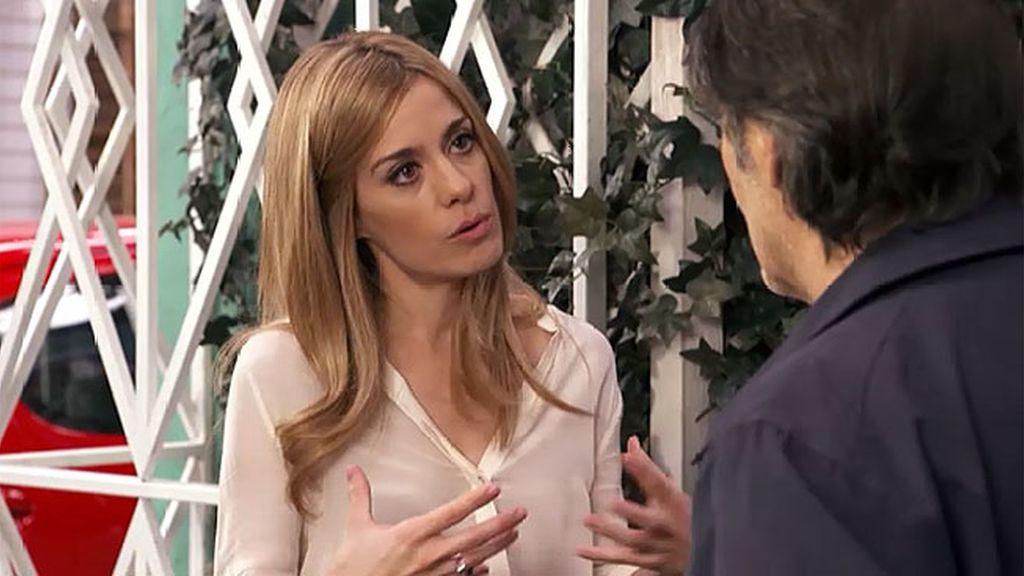 Carlota quiere que su padre diga la verdad