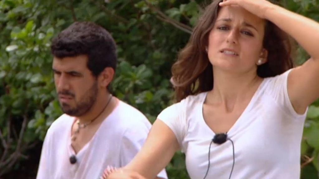 Inés y Pedro, al borde de la ruptura