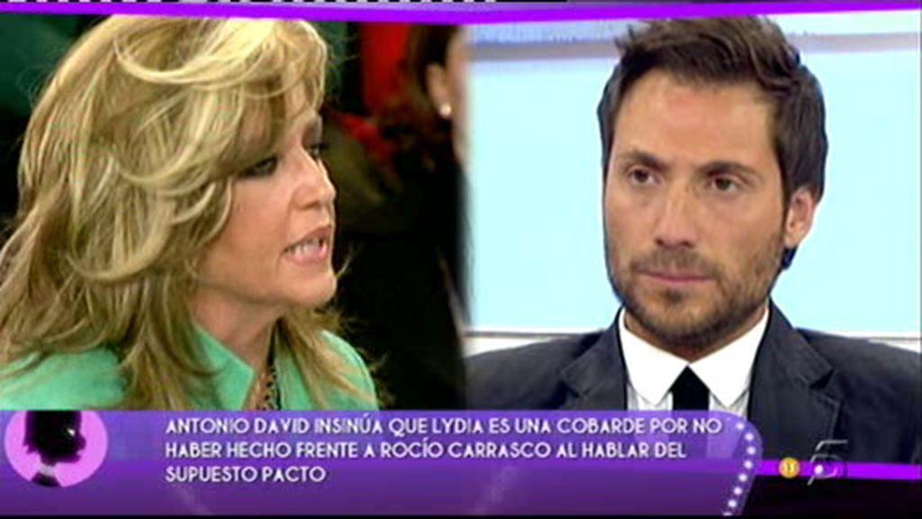 """Antonio David: """"Me sorprendió que Rocío Carrasco intervinera en Sálvame para aclara nuestro convenio"""""""