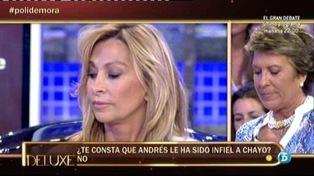El marido de Chayo Mohedano le pidió a María de Mora que le presentase famosas