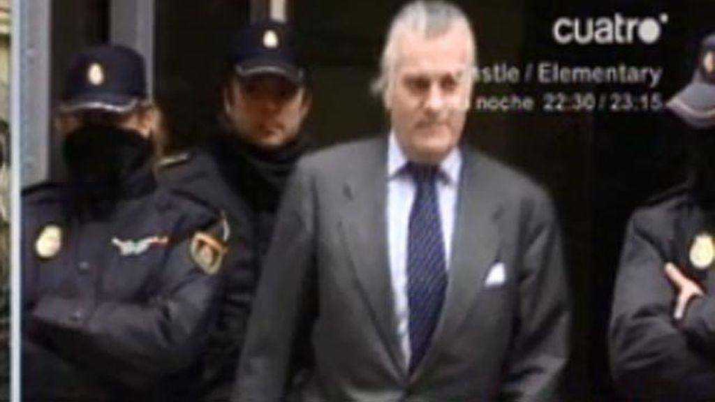 Bárcenas ha entregado el pasaporte en la Audiencia Nacional