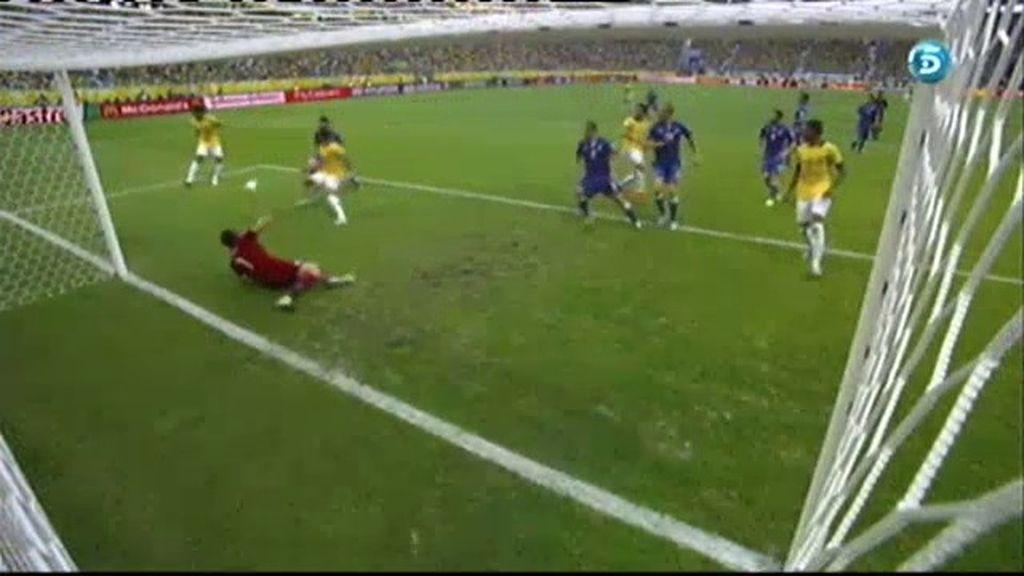 Gol: Italia 0–1 Brasil (min.46)