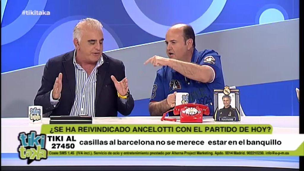Pedro P. San Martin amenaza con dejar el plató tras discutir con Juanma Rodríguez