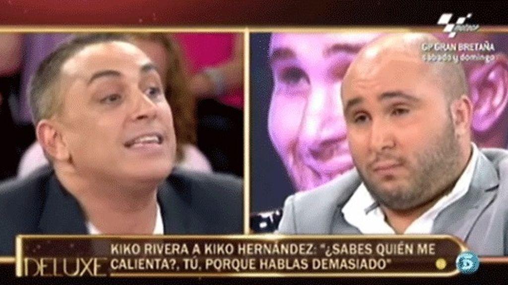 """Rivera a Kiko Hernández: """"Me calientas tú"""""""