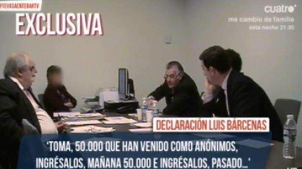 """Las declaraciónes de Bárcenas ante el Fiscal:""""El partido nadaba en la abundancia"""""""