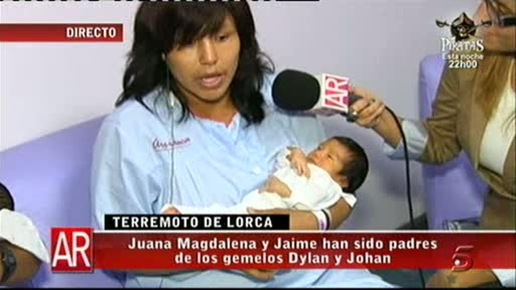 Nacen en Lorca tra el terremoto