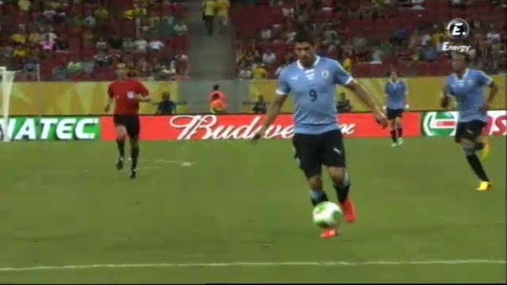 Gol: Uruguay 7-0 Tahití (min.82)