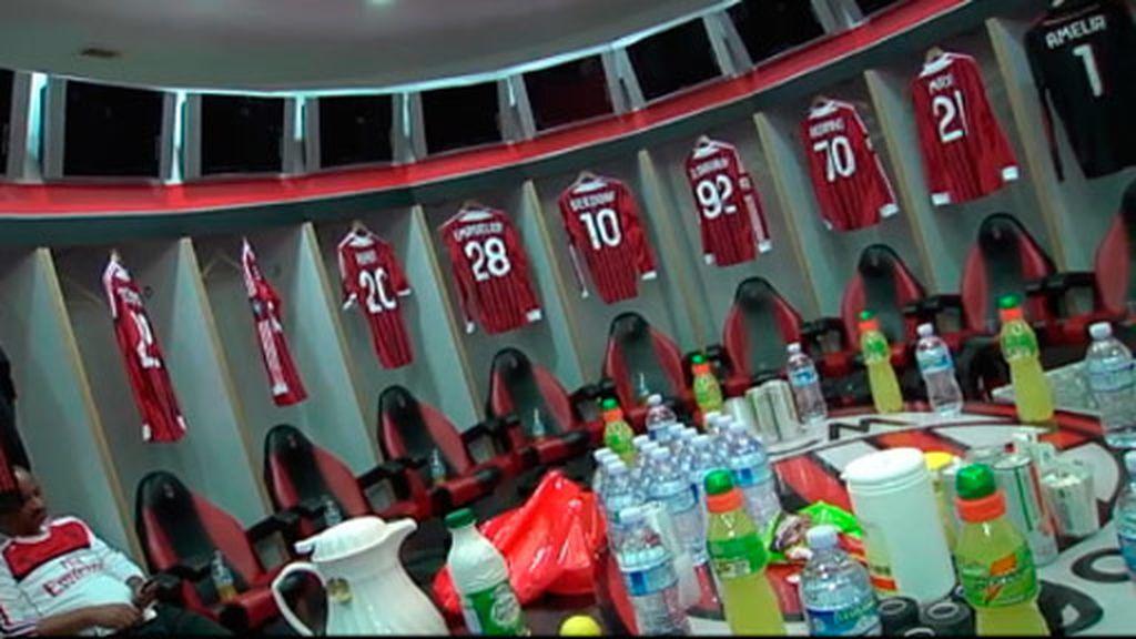 Un partido de fútbol en el campo del Milán sale por 500 euros cada partido