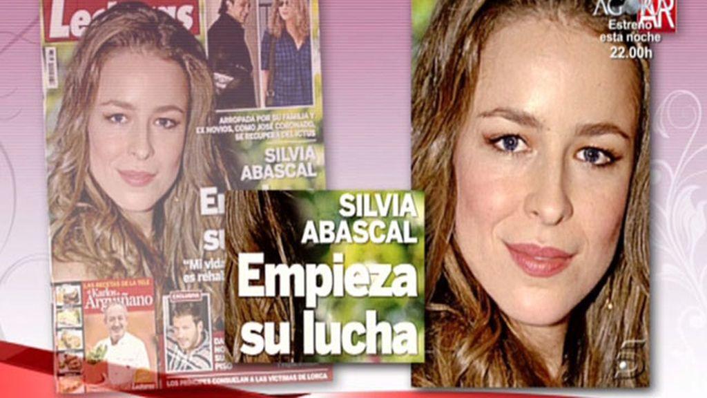 Silvia Abascal se recupera