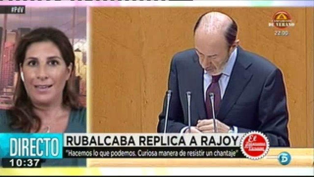 """Pilar García de la Granja: """"Rubalcaba no ha hecho las preguntas claves"""""""