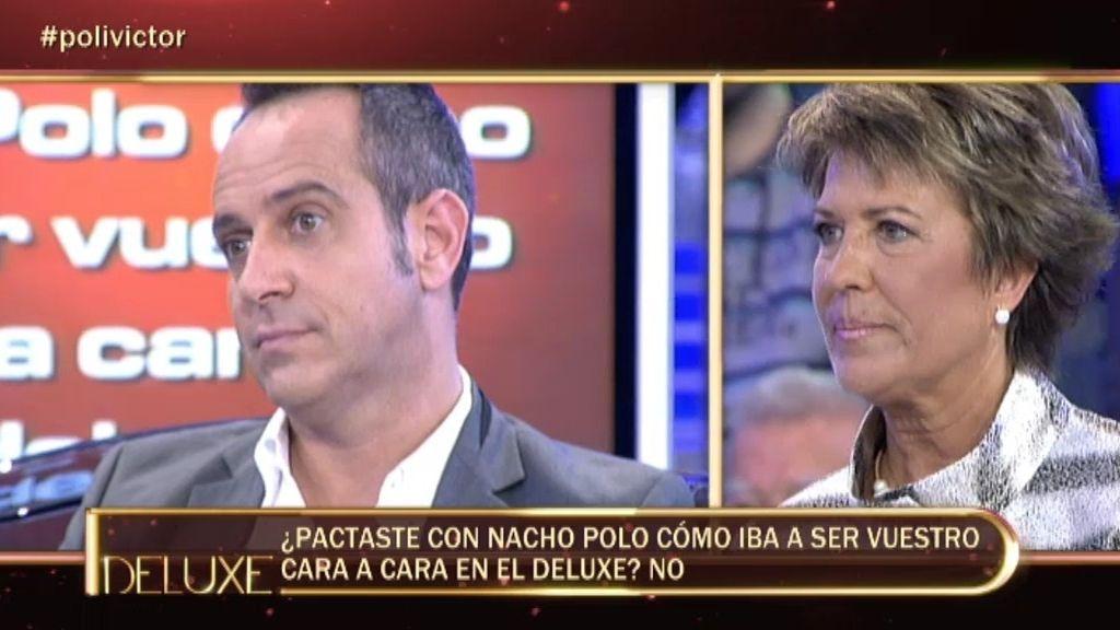 Víctor Sandoval no pactó con Nacho Polo su cara a cara