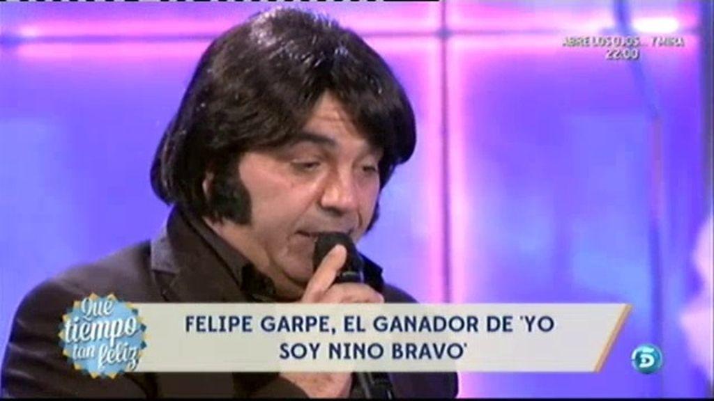 Felipe Garpe es el nuevo '¡Nino Bravo!'