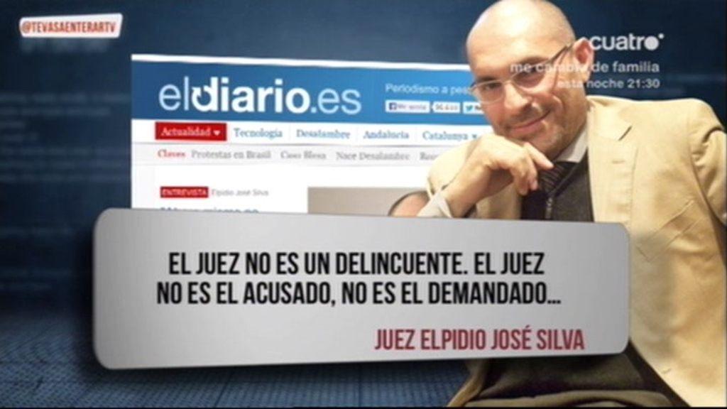 El juez Elpidio Silva denuncia presiones de la Fiscalía para excarcelar a Blesa