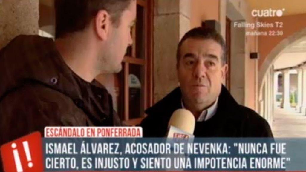 """Ismael Álvarez: """"Un acosador no sirve para la función pública"""""""