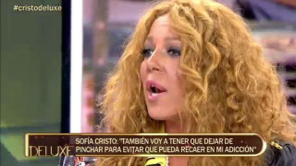 """Sofía Cristo: """"Tengo que aprender a vivir la vida sin estar drogada"""""""