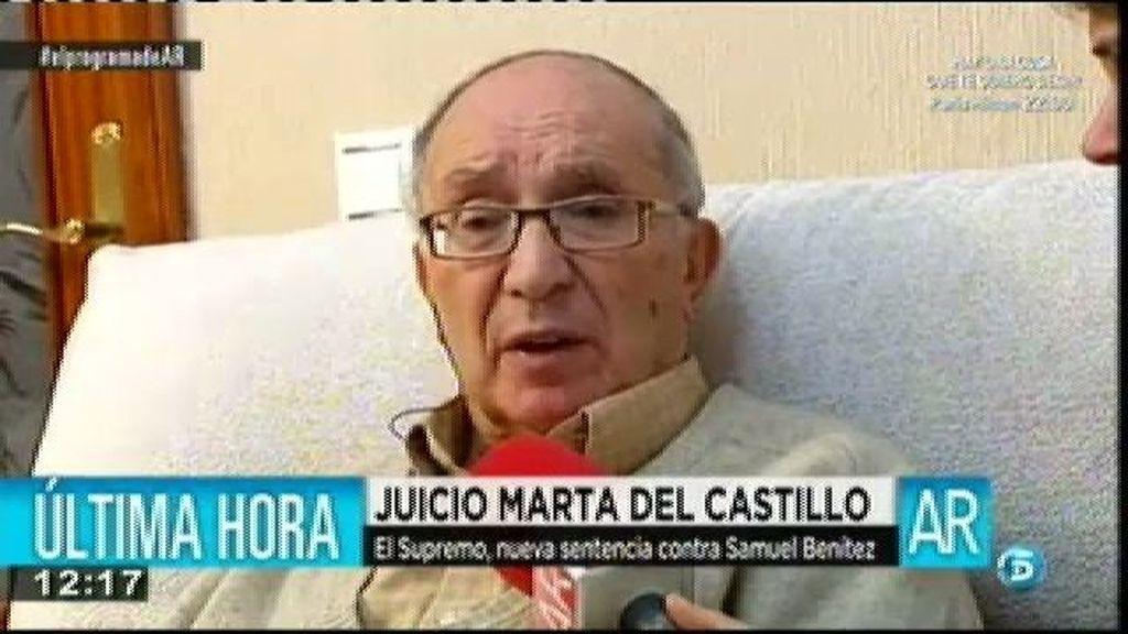 """José Antonio Casanueva: """"Nos da igual que amplien la condena de Carcaño, queremos que nos digan dónde está el cuerpo"""""""