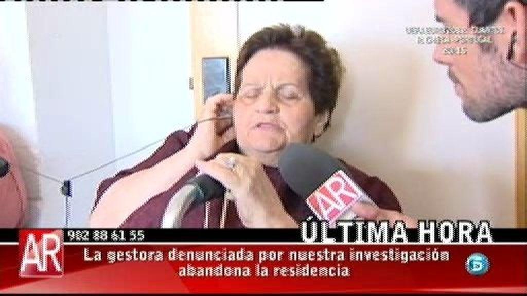 """Joaquina: """"La directora ha estado toda la noche limpiando y se ha llevado cosas"""""""