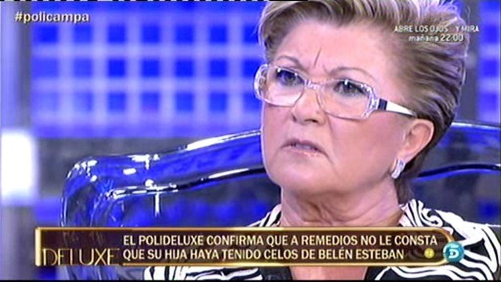 Remedios Torres miente cuando dice que Mª José Campanario trata a Andrea como su hija