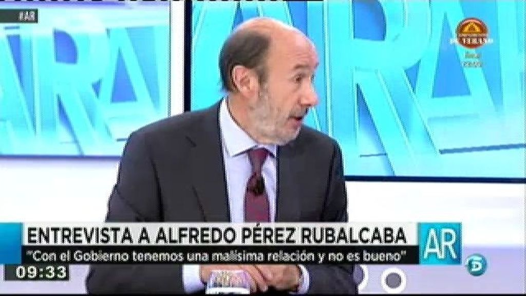 """Rubalcaba: """"Se está aprovechando la crisis para liquidar los derechos de los trabajadores"""""""