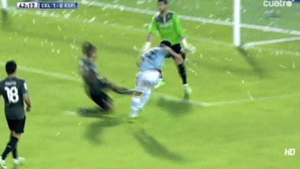 Gol de Alex López (Celta 1 – 0 Espanyol)
