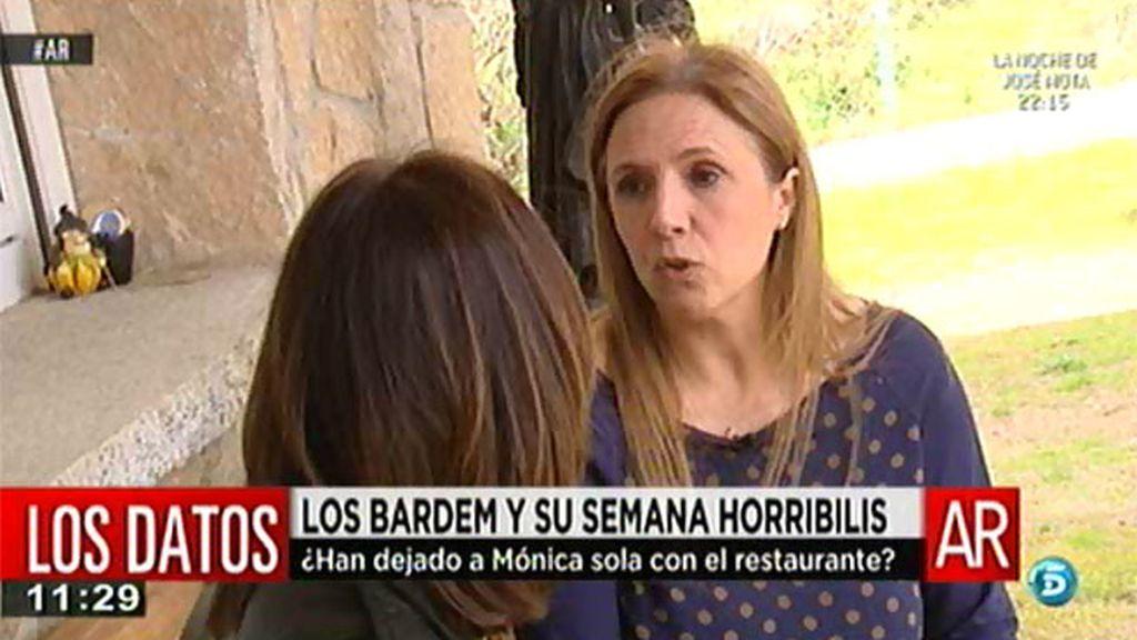 """María José, exmujer de Juan Bardem: """"Mónica no se sentía apoyada por sus hermanos en 'La Bardemcilla"""""""