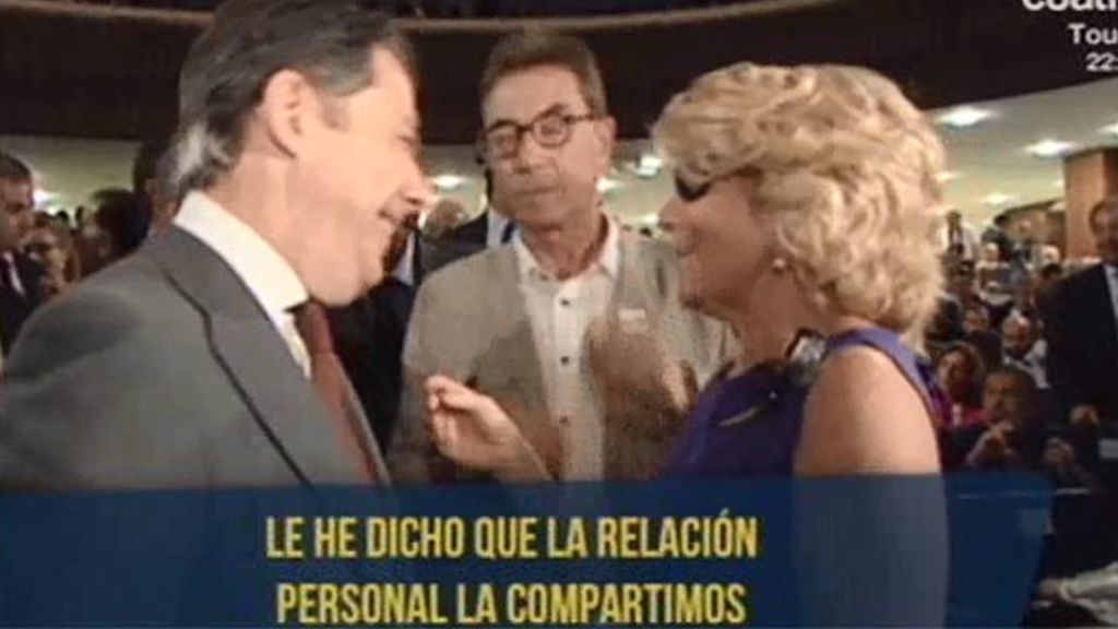 ¿Existen desavenencias entre Esperanza Aguirre e Ignacio González?
