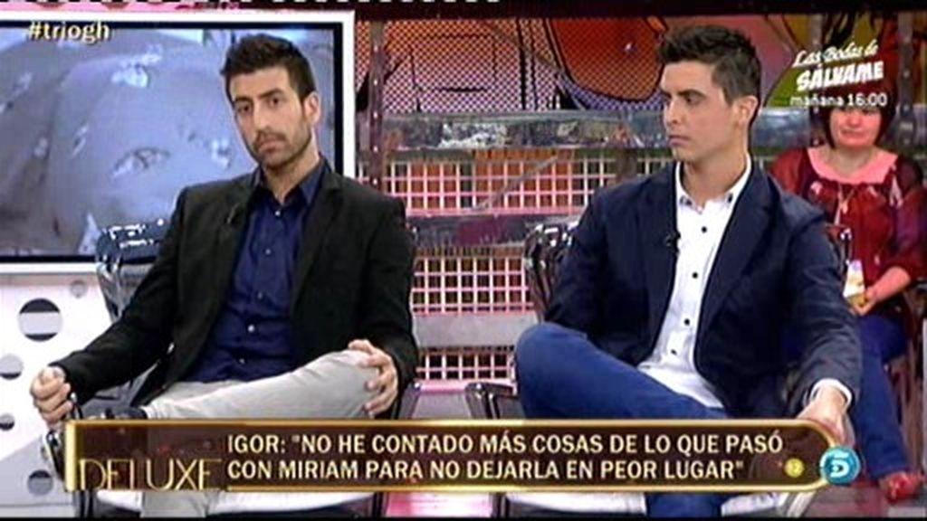 """Miguel: """"No sé si creer a Igor por sus contradicciones"""""""