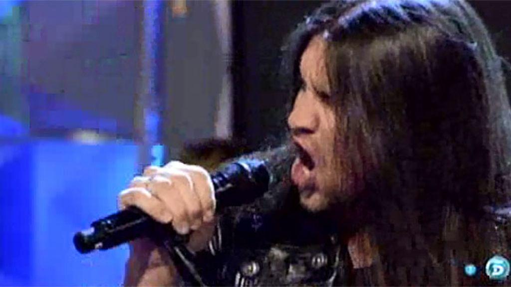 Rafa Blas canta 'Vivir, morir'