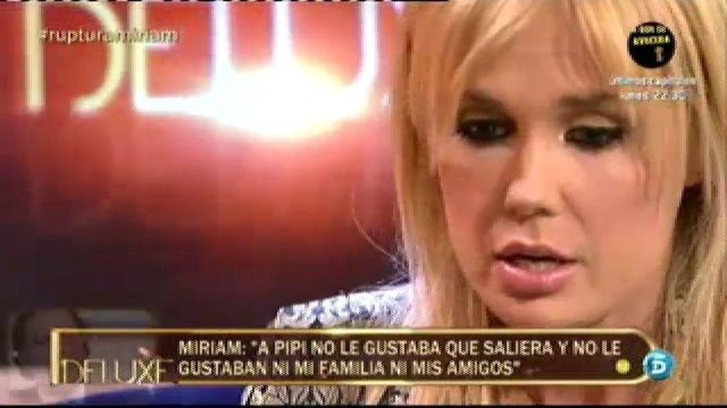 """Miriam: """"Pipi buscaba en mí una actriz porno"""""""