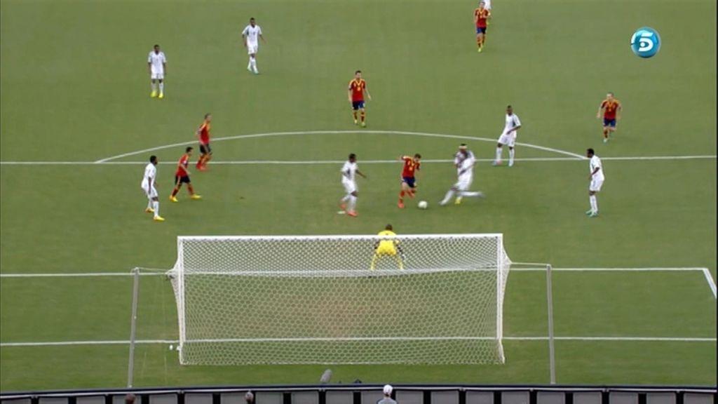 Gol: Nigeria 0-1 España (min.4)