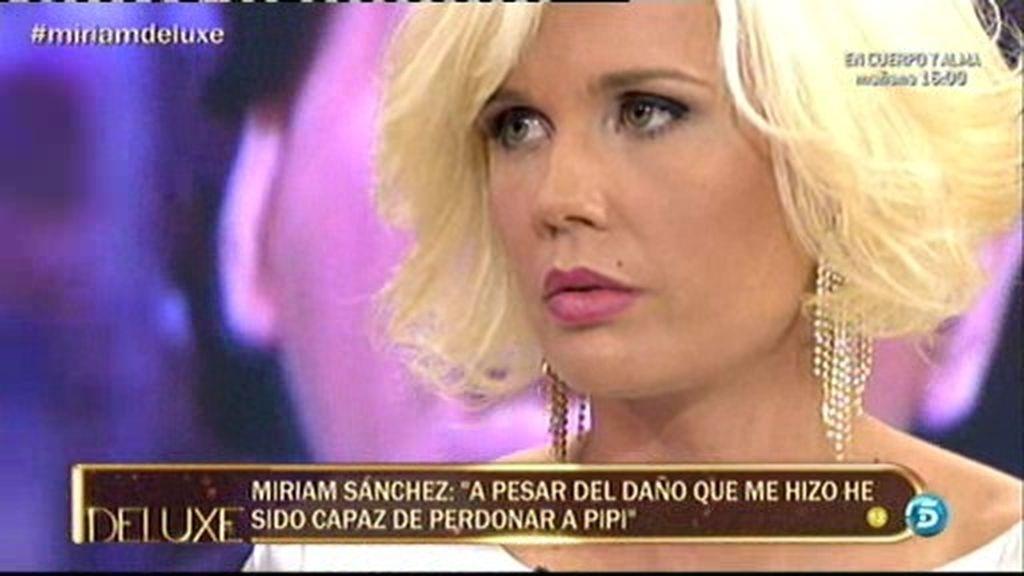 """Miriam: """"He podido perdonar a Pipi Estrada"""""""