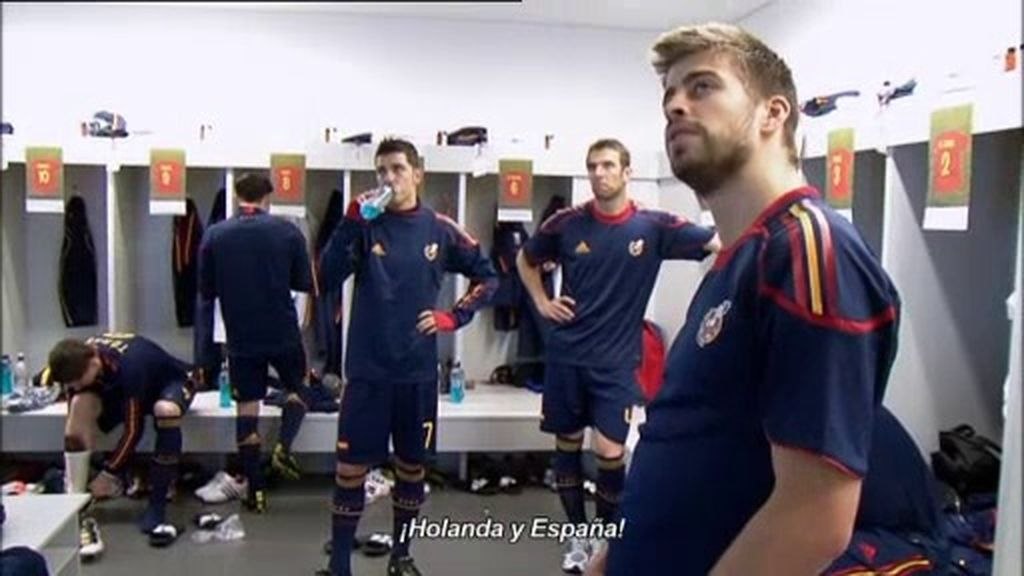 Nervios y mucha expectación antes de la final frente a Holanda