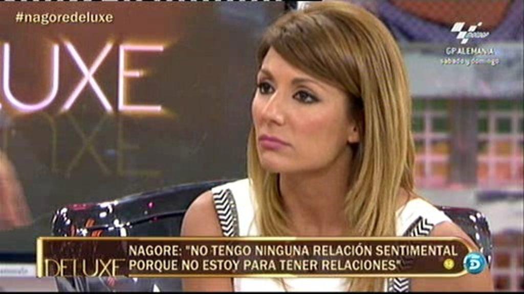 """Nagore: """"Tengo buena relación con Bárbara Rey pero es distante"""""""