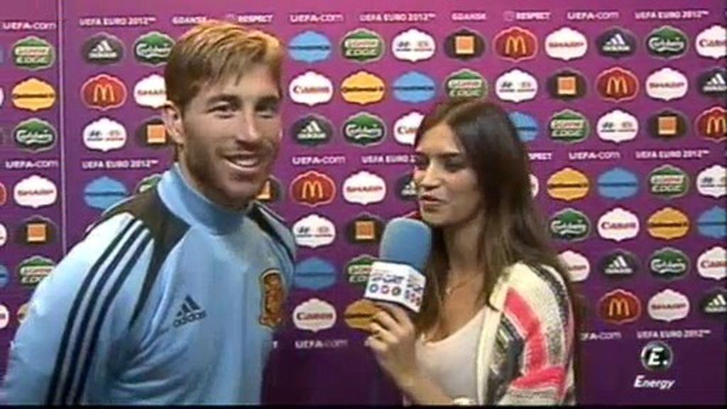 "Ramos: ""Me encuentro fenomenal con Piqué"""
