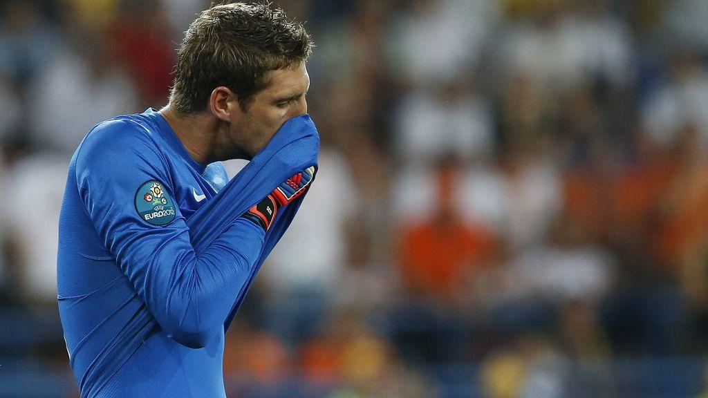 Stekelenburg salva a Holanda de una goleada