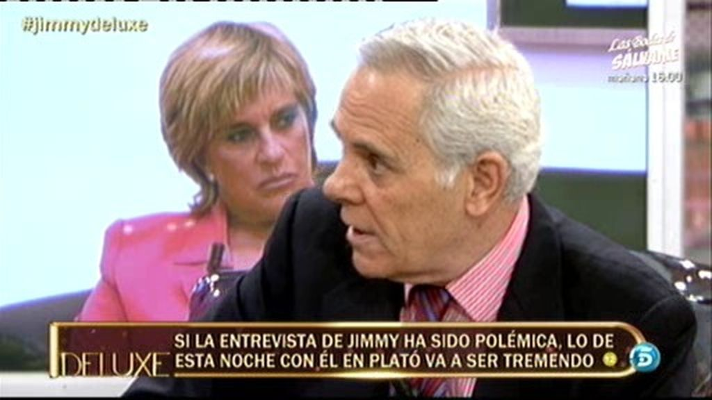 """Jimmy Giménez Arnau: """"No tengo miedo a las querellas de Chelo Gª Cortés"""""""