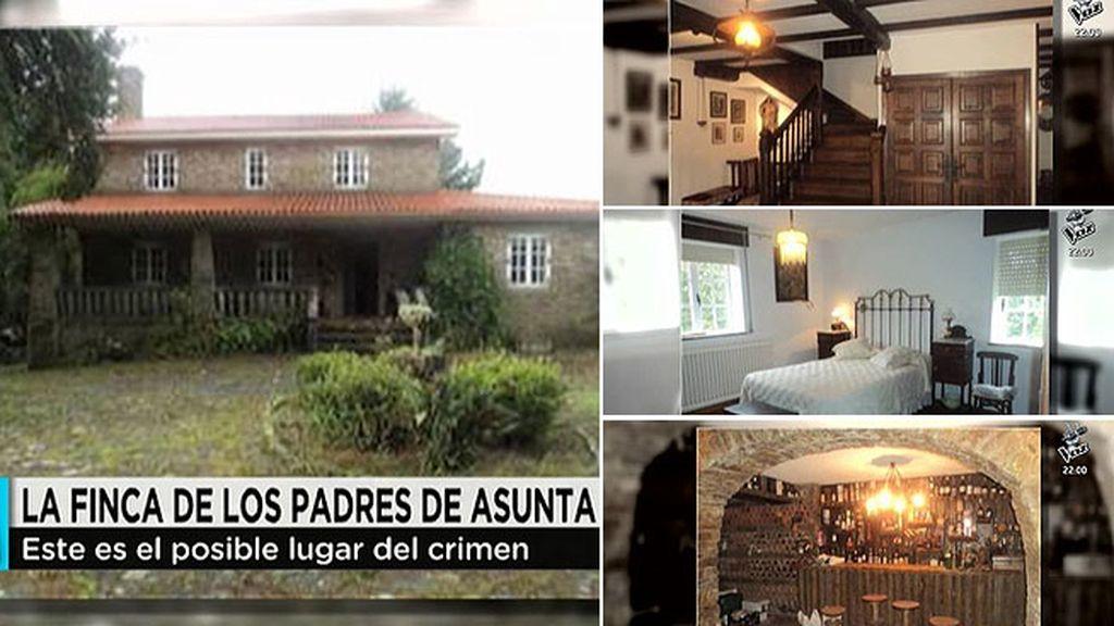 El interior de la casa de Teo donde pudo morir Asunta Basterra, en exclusiva