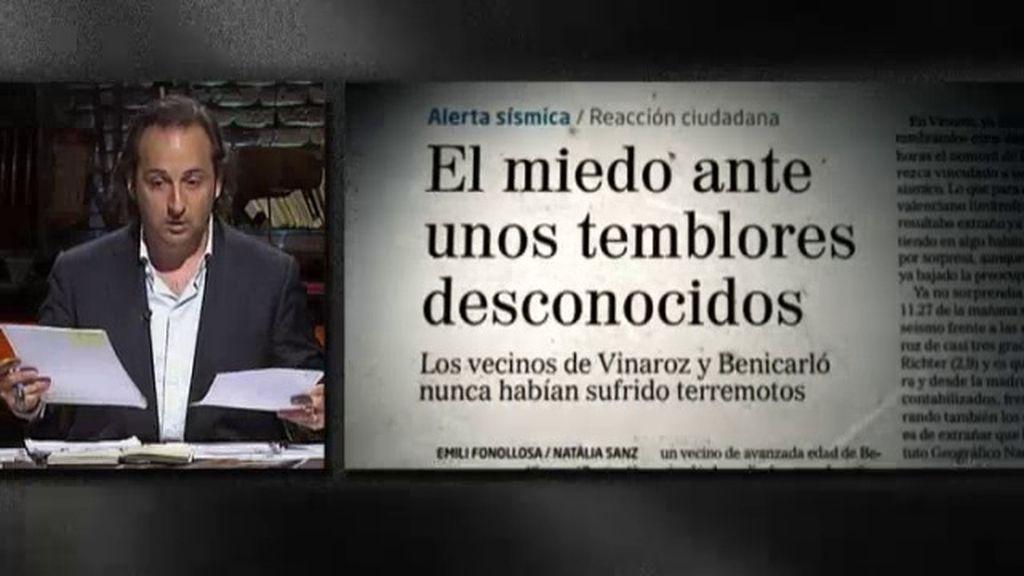 ¿Qué hay detrás de los seísmos registrados en Castellón?